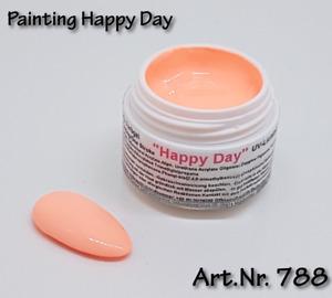 5 ml UV Exclusiv Painting / One Stroke Farbgel Happy Day 788