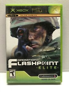 Operation Flashpoint: Elite (Microsoft Xbox, 2005) Complete w/ Manual - Tested