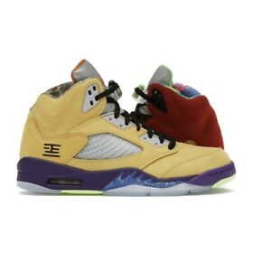 Air Jordan Retro 5 SE What The size 8.5 CZ5725-700 BRAND NEW IN HAND