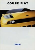 Fiat Coupé Prospekt 1994 4/94 32 S. Autoprospekt Broschüre brochure prospetto