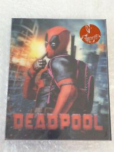 DEADPOOL Bluray Steelbook+Lenticularslip beides geprägt Kimchi 203/1100 sealed