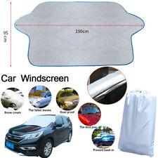 Car Windscreen Window Frost Shield Cover Ice Snow Dust UV Protector Sun Shade UK