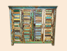 Recycled Boat Timber Country Storage Cabinet Buffet Sideboard Rustic Industrial