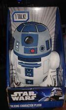"""STAR Wars R2D2 9 """"parlando Personaggio Giocattolo Peluche-NUOVO in scatola di visualizzazione"""