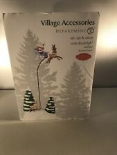 Department 56 Accessories for Villages Up and Away with Rudolph Accessory Figurine 4047543