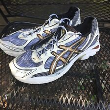 Asics GT 2150 Duomax Gel Mens White Grey Bronze Running Tennis Shoes Size Sz 16