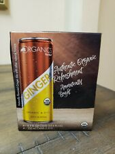 REDBULL Ginger Ale Organic & Spicy 4 Pk Of 8.4 oz. Cans