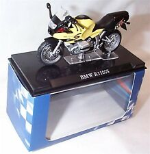 Atlas motor bike BMW R1100S Yellow 1-24 Scale New in Case