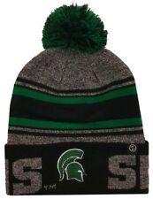 Zephyr Hats Michigan State University Spartans Orbit Hat NCAA College Beanie Cap