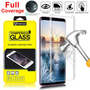 Samsung Galaxy Note 10 S8 S9 S10 Plus Full Cover Tempered Glass Screen Protector