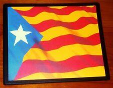 Bandera de la independencia de Cataluña estelada blava Catalunya Catalán Mouse Mat Pad
