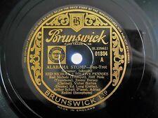 1927 Jazz 78 RED NICHOLS & HIS FIVE PENNIES Alabama Stomp / Hurricane HEAR