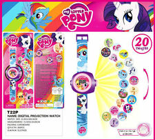 My Little Pony TV Figures Doll 20 Projection Wrist Watch Kids Boy Girl Toy Gift