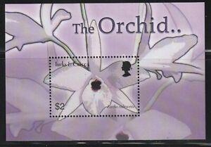 Turks & Caicos   2003   Sc # 1431   Orchids   s/s   MNH   (54547)