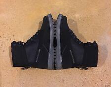 DC Uncas Size 6.5 US Black Dark Grey BMX Skate Hiking Trail Work Boots