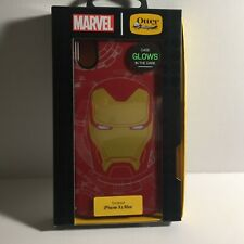 Marvel Iron Man Glow in the Dark Otterbox iPhone Xs Max Protective Case