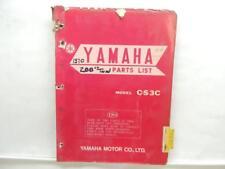 1970 Yamaha CS3C Parts List Manual Guide Book List L12554