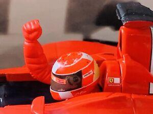 1/18 Hotwheels Mattel Ferrari F2002 Ferrari 150 Wins Montreal - Schumacher