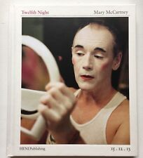 TWELFTH NIGHT DUAL HAND SIGNED MARY MCCARTNEY MARK RYLANCE HB BOOK AUTOGRAPHED