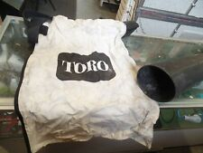 Toro Leaf Blower Bag and Blower Attachment