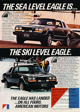1980 AMC Eagle - Original Car Advertisement Print Ad J300