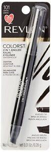 Revlon ColorStay 2 in 1 Angled Kajal Eyeliner ~ Waterproof ~Choose from 4 Shades