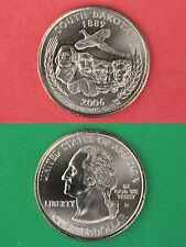 2006 D South Dakota State Quarter From Uncirculated Mint Sets Flat Rate Shipping