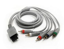 Nintendo Wii / Wii U High Definition HD Component Audio Video AV Cable Cord