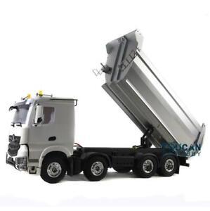 Hercules 1/14 Scale Benz RC Metal Bucket Dumper Truck 4Axles Chassis W/ Motors