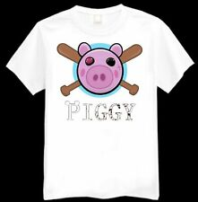 Roblox Piggy Badge Kids Printed T-Shirt Various Sizes Available