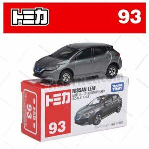 Tomica No 93 - Nissan LEAF Grey