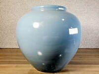 "Pastel Blue Vase, Vaporwave Vase, Rick & Morty Vase, 80s Vase   ~ 9"" Tall"