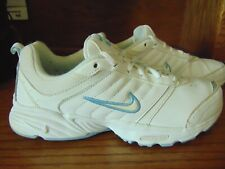 NIKE ROLLING RAIL DRC 318171-111 WOMEN'S LEATHER ATHLETIC WALKING SHOES SIZE 7.5