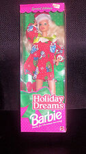Vintage 1994 Barbie HOLIDAY DREAMS Doll Special Edition #12192 New In Box