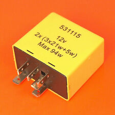 Genuine Quality Vauxhall Flasher Hazard Indicator Relay Unit - 9134880 6238590