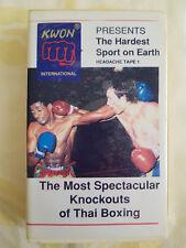 Thai - Kick - Box VHS Video Sammlung - 3 Videos! Rarität!!