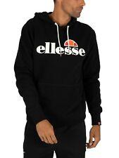 Ellesse Men's SL Gottero Pullover Hoodie, Black