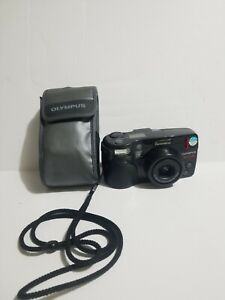 OLYMPUS SUPERZOOM 3000 DLX 38-110MM Great Condition WITH CASE Powers on