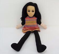 Vintage Mattel Doll Scooba Doo Pull String Black Hair