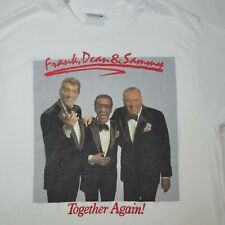 New listing The Rat Pack Frank Dean Sammy Together Again Shirt 1988 Concert Size L 42-44