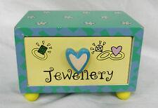 Miniature unique Tiroir Commode Boîte à bijoux avec en forme de cœur Poignée