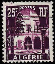 Scott # 271 - 1955 - ' Patio of Bardo Museum ', Postes & Algerie in White