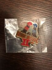 Bud Bowl 2 Vintage Super Bowl Collectible Pin New Old Stock
