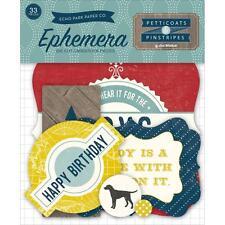 Echo Park ~ PETTICOATS & PINSTRIPES ~ Ephemera