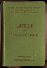 BORDAS & TOUPLAIN, LAITERIE (LAIT CRÈME FROMAGES OEUFS)
