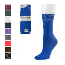Back To School Rich Cotton Ankle Socks For Boys And Girls In Range Of Colours