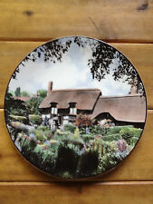 Royal Doulton China Plate Ann Hathaway's Cottage T.C. 1027