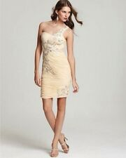 NWT $468 Sue Wong N1545 Cocktail evening prom social occasion champagne dress 4