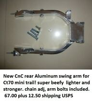Honda Aluminium CNC rear swingarm CT70 Dax ST70 Z50 Chinese, chain adj incl