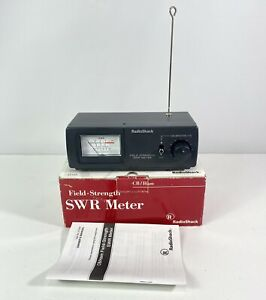 Radio Shack SWR Meter CB / Ham Antenna Field Strength Meter 21-533 M3